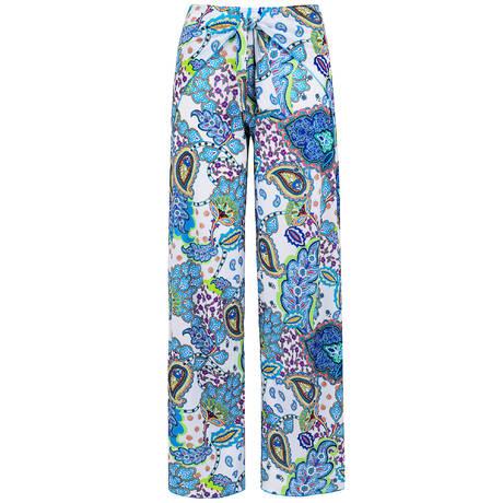 ANTIGEL Pantalon de plage La Bollywood Bleu Kashmir