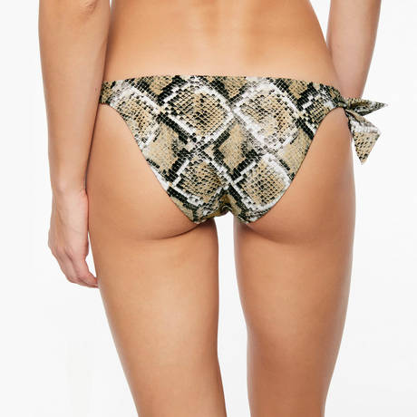 CHANTELLE Maillot de bain bikini Jungle Land Python