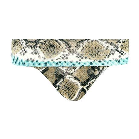 CHANTELLE Maillot de bain culotte haute Jungle Land Python