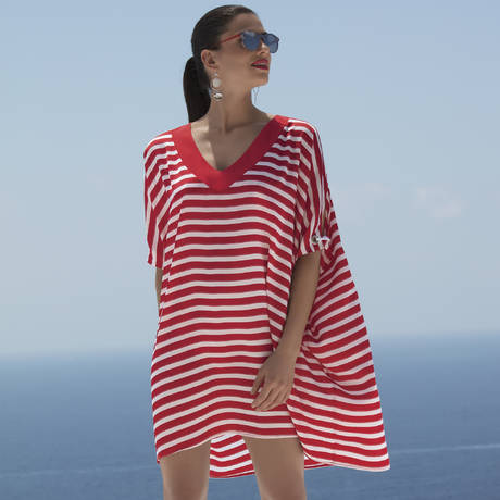 LISE CHARMEL Tunique de plage Distinction Nautique Nautique Sunshine