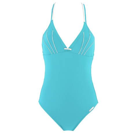 LISE CHARMEL Maillot de bain 1 pièce nageur dos plongeant Distinction Nautique Nautique Turquoise