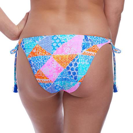 FREYA Maillot de bain slip lacets Festival Girl Multi