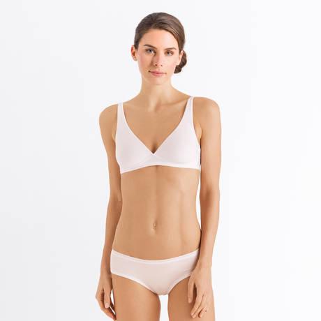 HANRO Soutien-gorge sans armatures Cotton Sensation Blanc