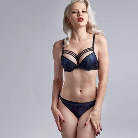 MARLIES DEKKERS String sexy Dame de Paris Bijou Blue