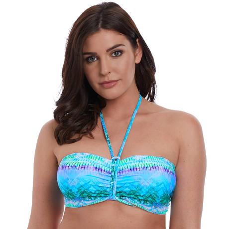 FREYA Maillot de bain bandeau Seascape Blue Lagoon