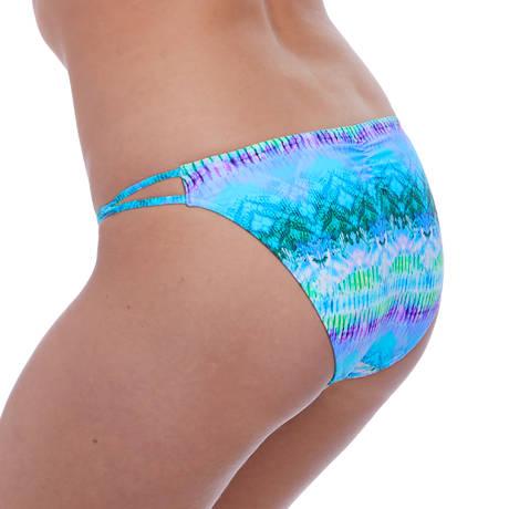 FREYA Maillot de bain slip lacets Seascape Blue Lagoon