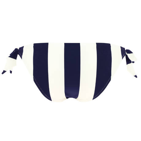 ANDRES SARDA Maillot de bain slip taille basse ficelles Azura Water Blue