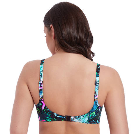 FREYA Maillot de bain moulé armatures Jungle Flower Black Tropical