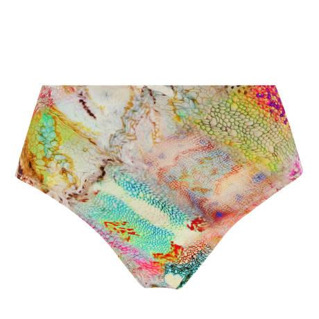 PAIN DE SUCRE Maillot de bain culotte haute Tobago Delire Cameleon