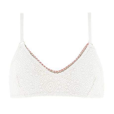 BANANA MOON Maillot de bain coques Plago Couture Crochet Ecru