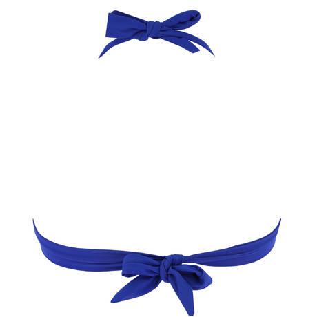 PAIN DE SUCRE Maillot de bain triangle push-up Donia Sensitive Uni Life Bleu