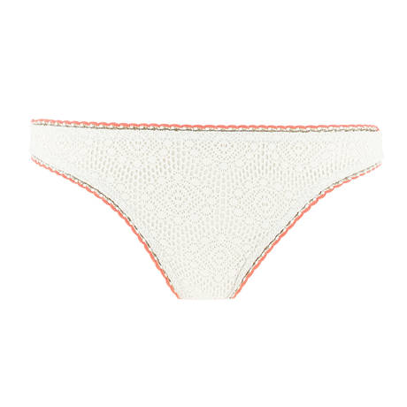 BANANA MOON Maillot de bain culotte Breeda Couture Crochet Ecru