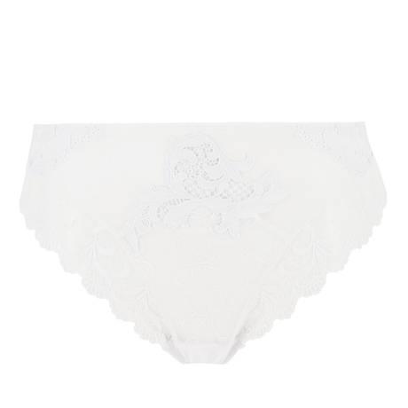 LISE CHARMEL Culotte haute Acanthe Arty Blanc