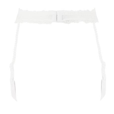 LISE CHARMEL Porte-jarretelles Acanthe Arty Blanc