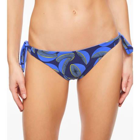 CHANTELLE Maillot de bain slip lacets réversible Eclipse Deep Blue/Lemon