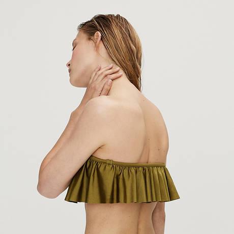 LOVE STORIES Maillot de bain bandeau Lotus Swim Moss
