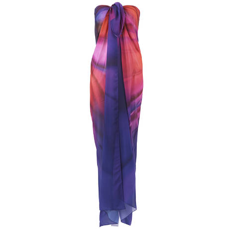 GOTTEX Paréo Belle Fleur Multi Purple