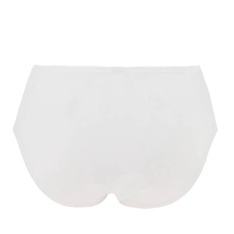 EPRISE DE LISE CHARMEL Culotte haute Acanthe Guipure Blanc