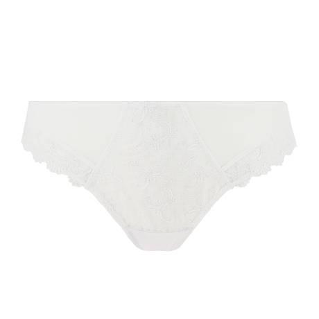EPRISE DE LISE CHARMEL Slip fantaisie Acanthe Guipure Blanc