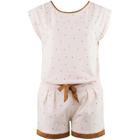 LAURENCE TAVERNIER Pyjama short en coton Echapée Graminée