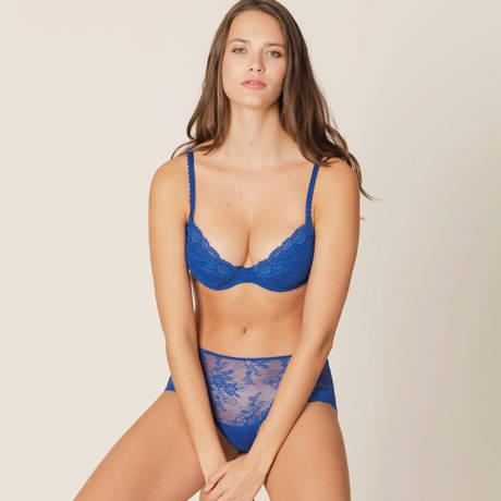 MARIE JO Soutien-gorge push-up en dentelle Madelon Blue Print