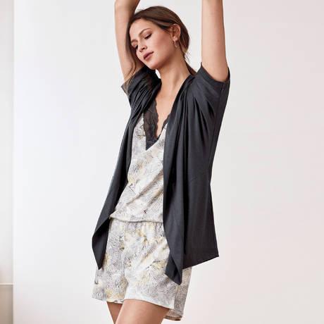 CALIDA Combishort en coton Favourites Trend Mix & Match Star White