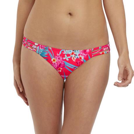 FREYA Maillot de bain slip lacets Wild Sun Tropical Punch