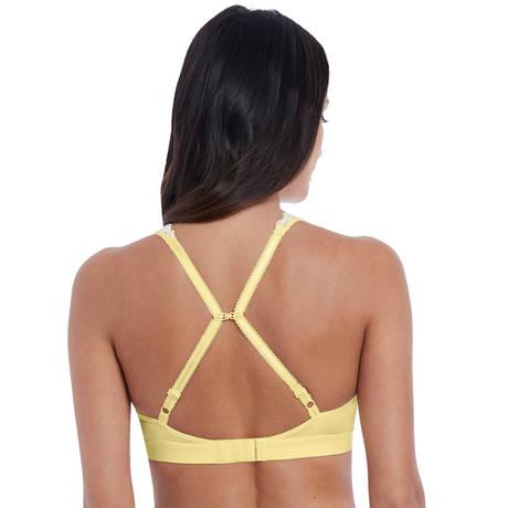 WACOAL Soutien-gorge triangle Embrace Lace Lemon/Ivory