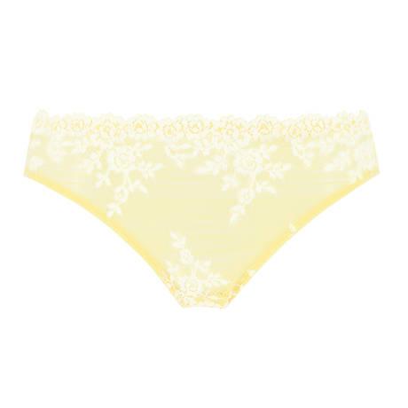 WACOAL Slip Embrace Lace Lemon/Ivory