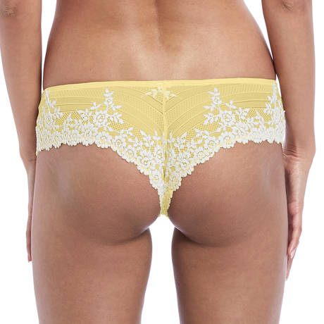 WACOAL Tanga Embrace Lace Lemon/Ivory