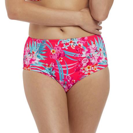 FREYA Maillot de bain culotte taille haute Wild Sun Tropical Punch