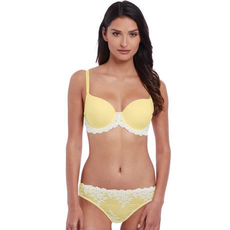 WACOAL Soutien-gorge coques Embrace Lace Lemon/Ivory