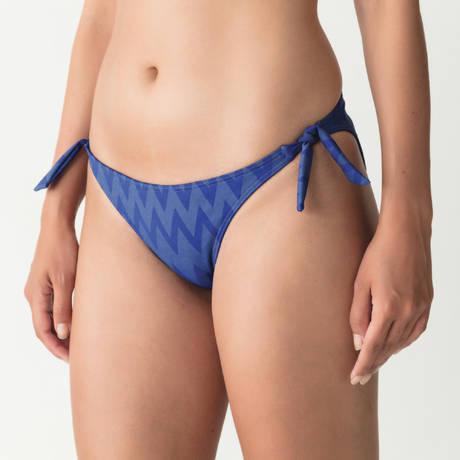PRIMADONNA Maillot de bain slip ficelles Venice Blue Pool