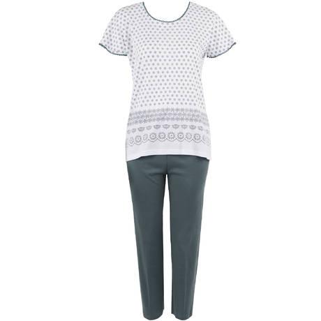 CANAT Pyjama en coton Murano 4 Blanc