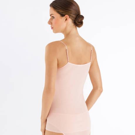 HANRO Caraco en coton Malene Light Blush