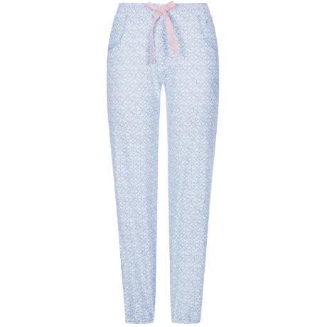 TRIUMPH Pantalon en coton Lounge Me Cotton Blue Light Combination