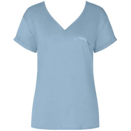 TRIUMPH T-shirt en coton Lounge Me Cotton Placid Water