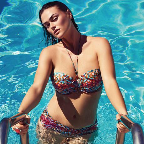 PRIMADONNA Maillot de bain bandeau coques Vegas Nomad Mix