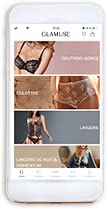 Téléchargez l'app Glamuse