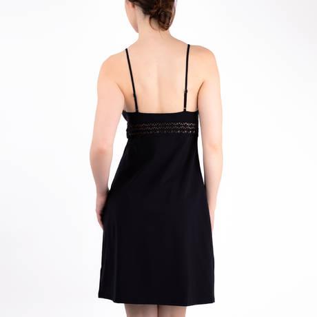 LISE CHARMEL Robe de plage Ajourage Couture Noir