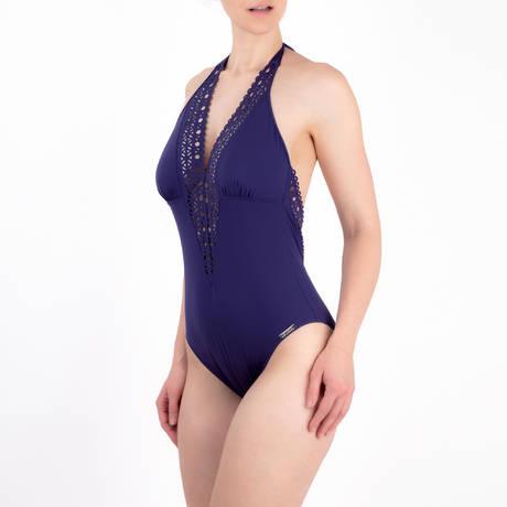 LISE CHARMEL Maillot de bain 1 pièce nageur séduction dos plongeant Ajourage Couture Ajourage Royal