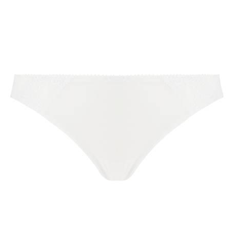 CONTURELLE DE FELINA Slip Tiffany Blanc