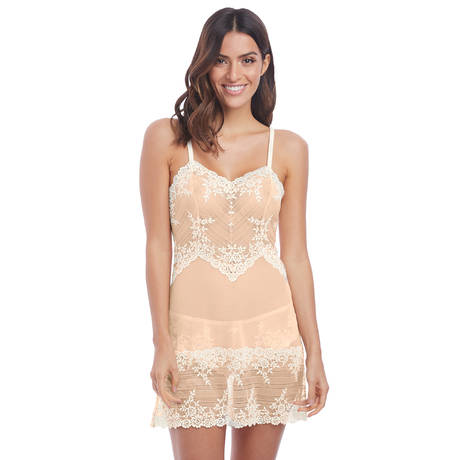 WACOAL Nuisette Embrace Lace Naturally Nude/Ivoire