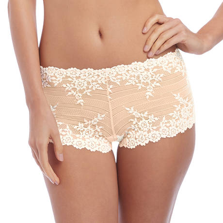 WACOAL Shorty Embrace Lace Naturally Nude/Ivoire