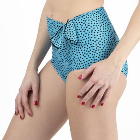 ANTIGEL Maillot de bain culotte haute La Dolce Riva Riva Bleu