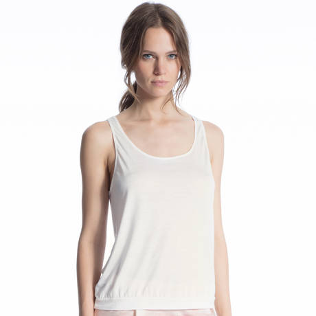 CALIDA Top sans manches Favourites Trend Mix & Match Leisure White