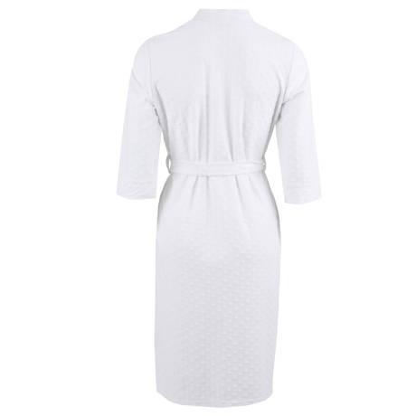 CANAT Peignoir en coton Carrie 1 Blanc