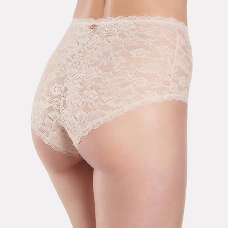 AUBADE Culotte haute Rosessence Nude d'été