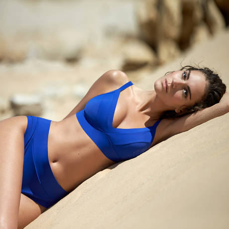 PAIN DE SUCRE Maillot de bain triangle Havanah Sensitive Uni Life Bleu
