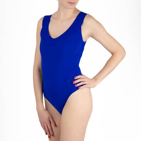 PAIN DE SUCRE Maillot de bain 1 pièce nageur Soya Sensitive Uni Life Bleu